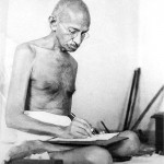 En Inde, on ne touche pas à Gandhi