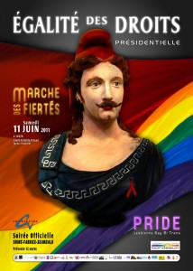 L'affiche de la Gay Pride de Bordeaux fait parler d'elle