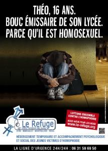 Une campagne d'affichage lancée par le Refuge