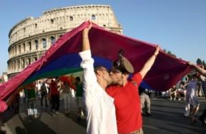 Italie : 2280 euros d'amende pour s'etre embrassés en public