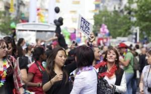 45 000 personnes pour la gay-pride bruxelloise