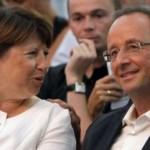 Hollande et Aubry se prononcent en faveur du mariage homosexuel